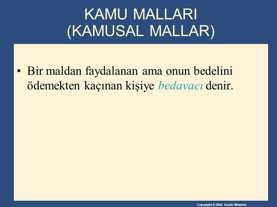 KAMU MALLARI (KAMUSAL MALLAR)