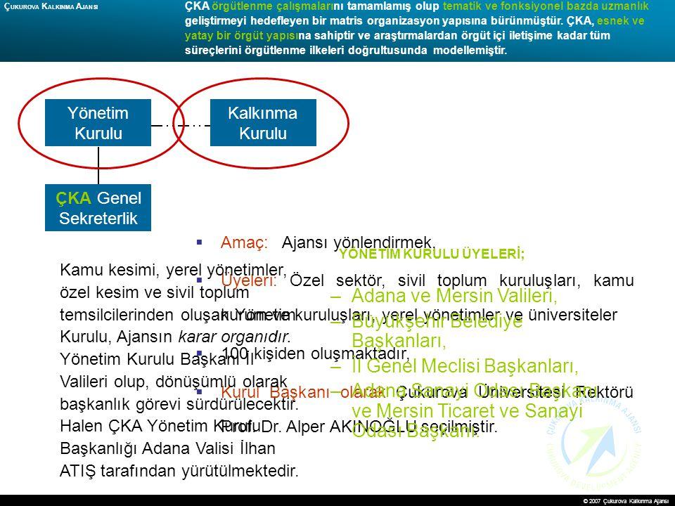 Adana ve Mersin Valileri, Büyükşehir Belediye Başkanları,