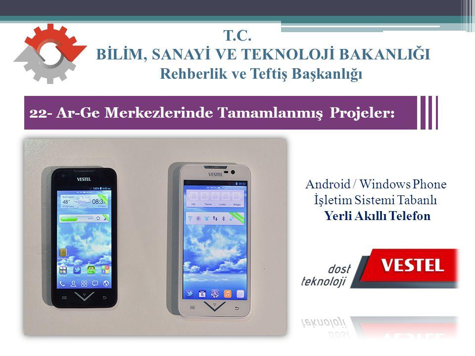 Android / Windows Phone İşletim Sistemi Tabanlı