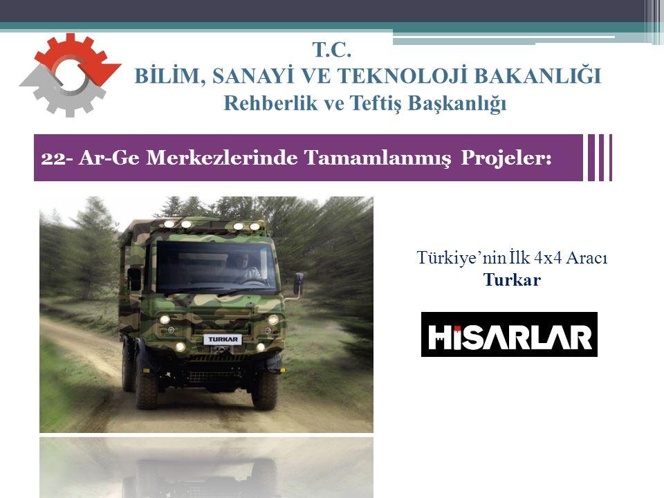 Türkiye'nin İlk 4x4 Aracı