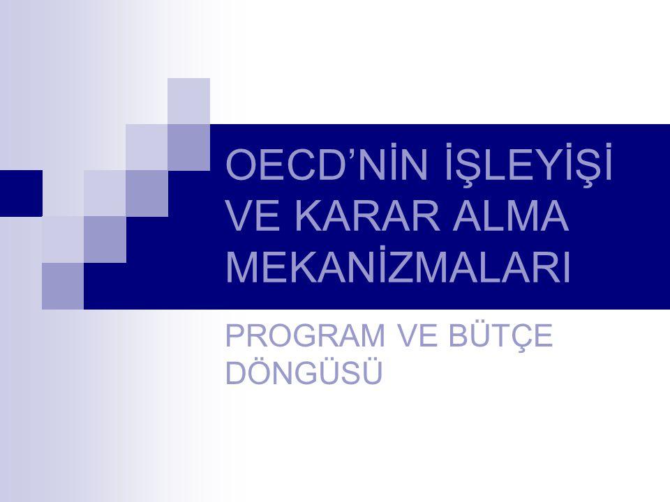 OECD'NİN İŞLEYİŞİ VE KARAR ALMA MEKANİZMALARI