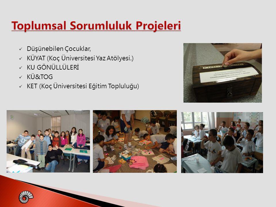 Toplumsal Sorumluluk Projeleri