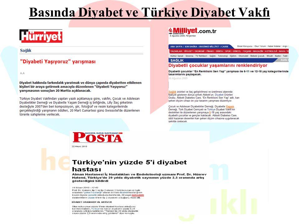 Basında Diyabet ve Türkiye Diyabet Vakfı