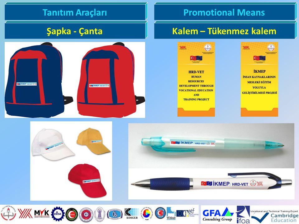 Tanıtım Araçları Promotional Means Şapka - Çanta Kalem – Tükenmez kalem