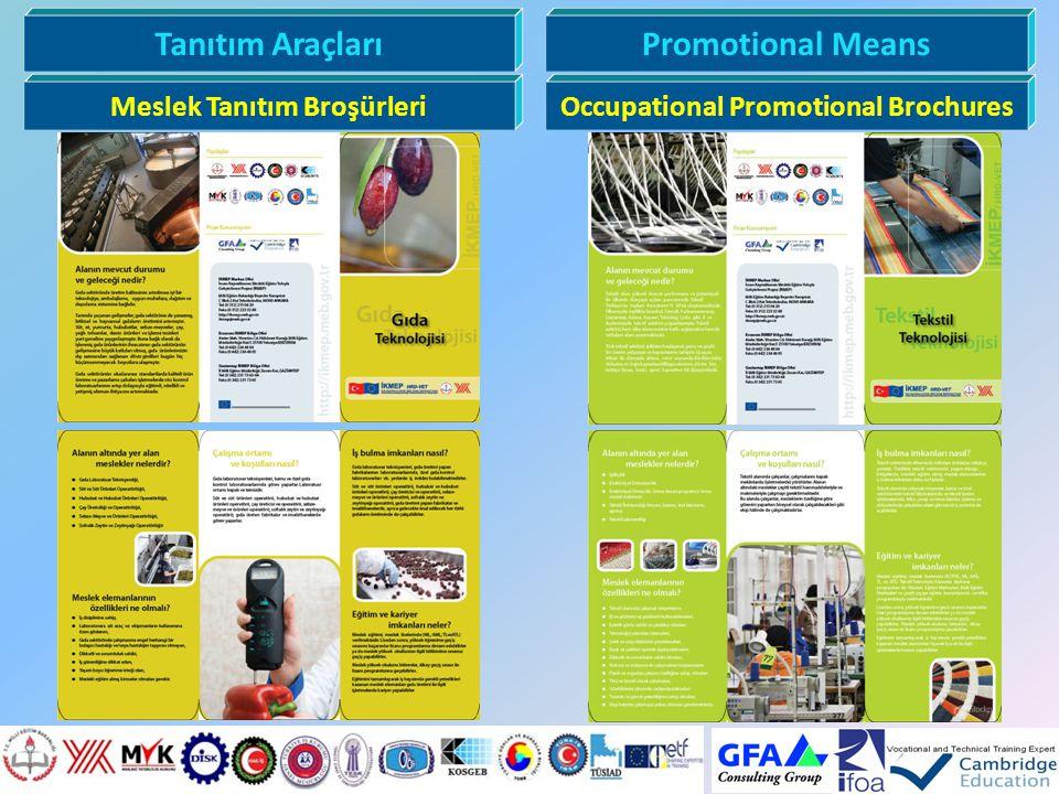 Meslek Tanıtım Broşürleri Occupational Promotional Brochures