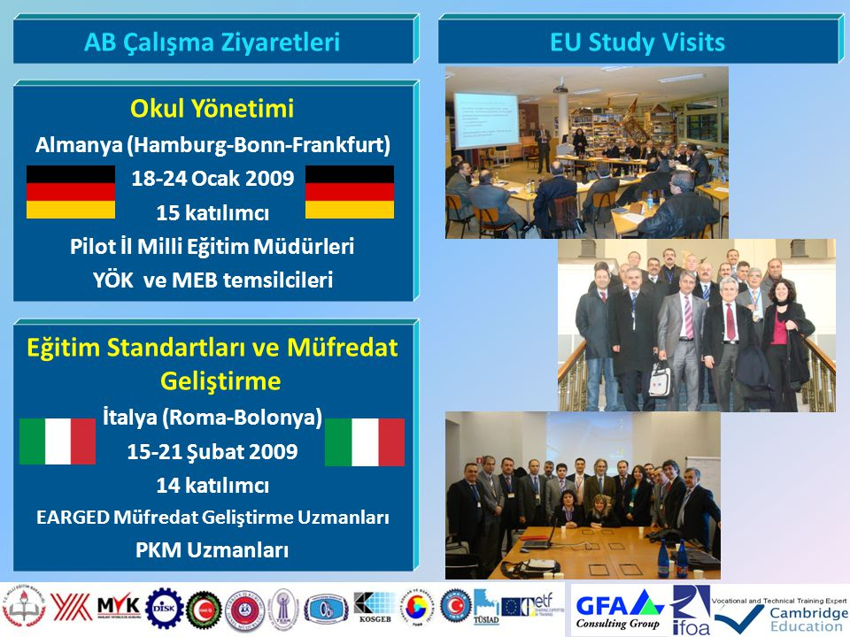 AB Çalışma Ziyaretleri EU Study Visits