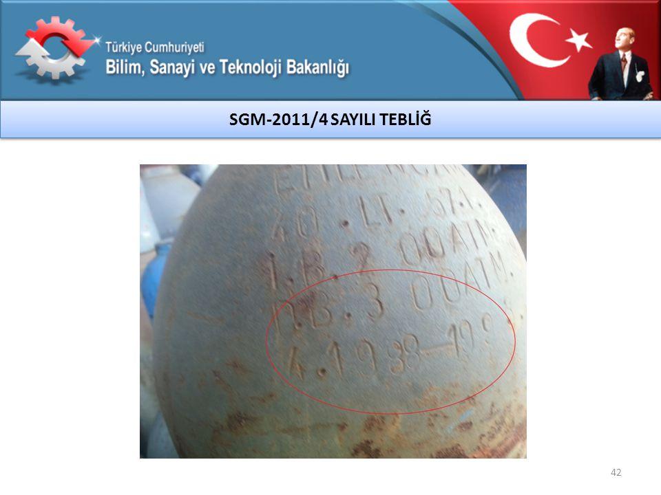 SGM-2011/4 SAYILI TEBLİĞ 42