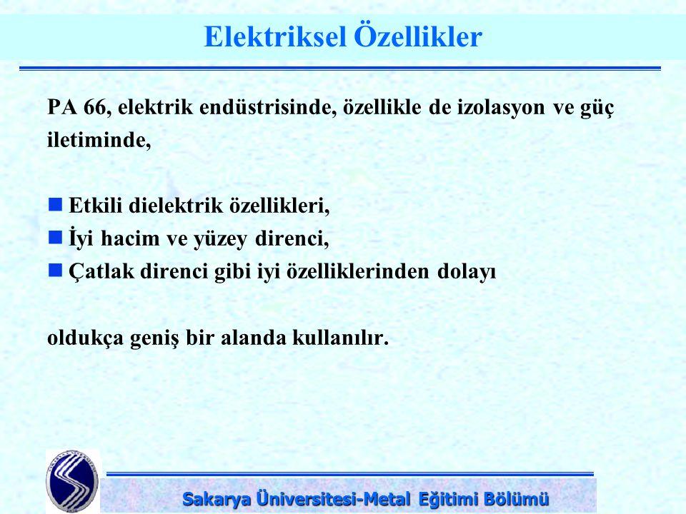 Elektriksel Özellikler