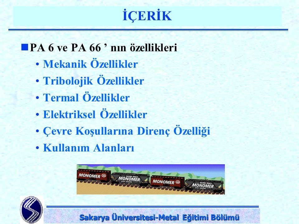 Sakarya Üniversitesi-Metal Eğitimi Bölümü