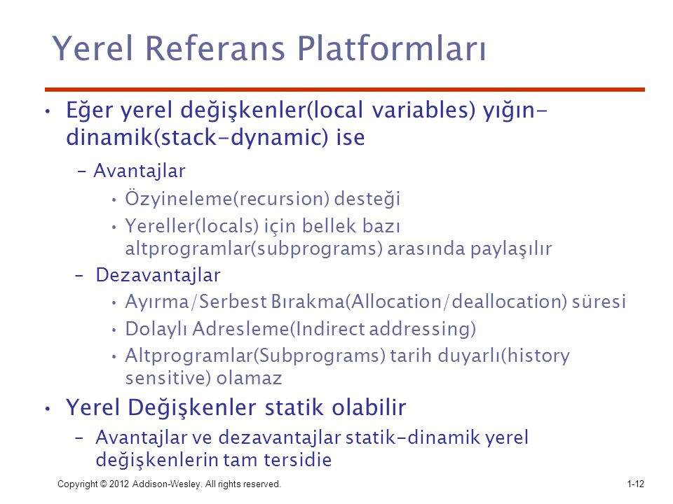 Yerel Referans Platformları