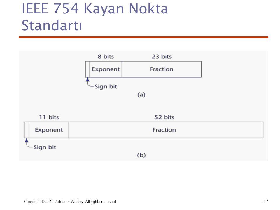 IEEE 754 Kayan Nokta Standartı