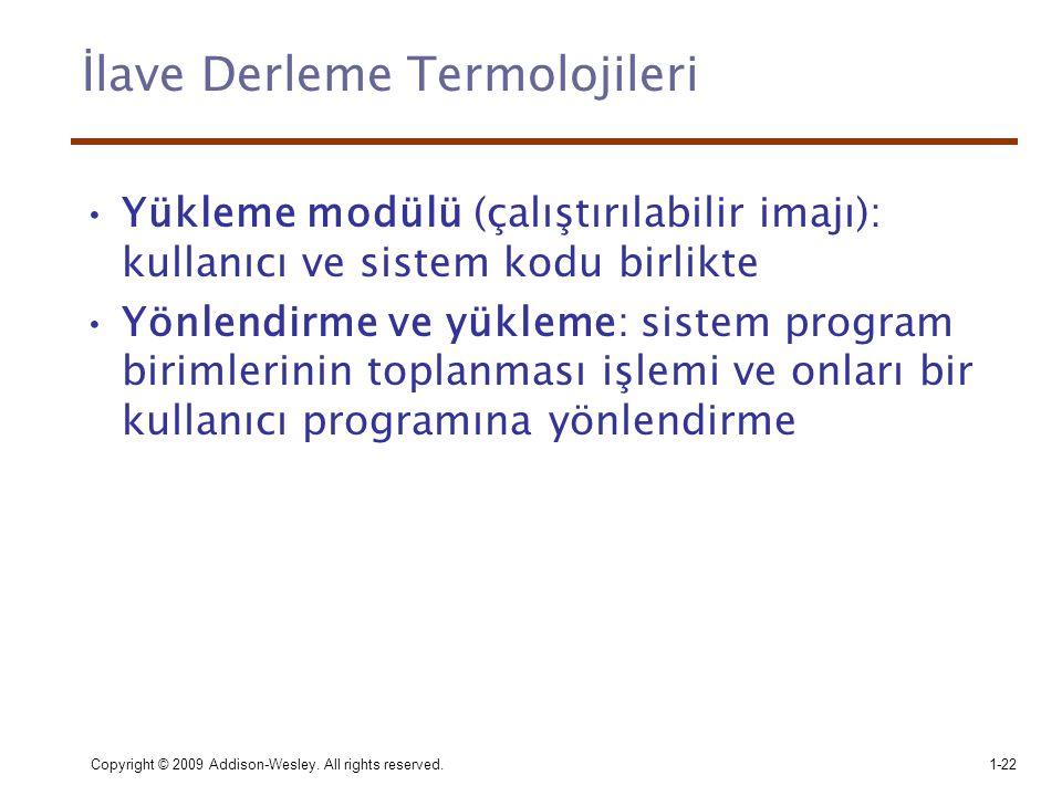İlave Derleme Termolojileri