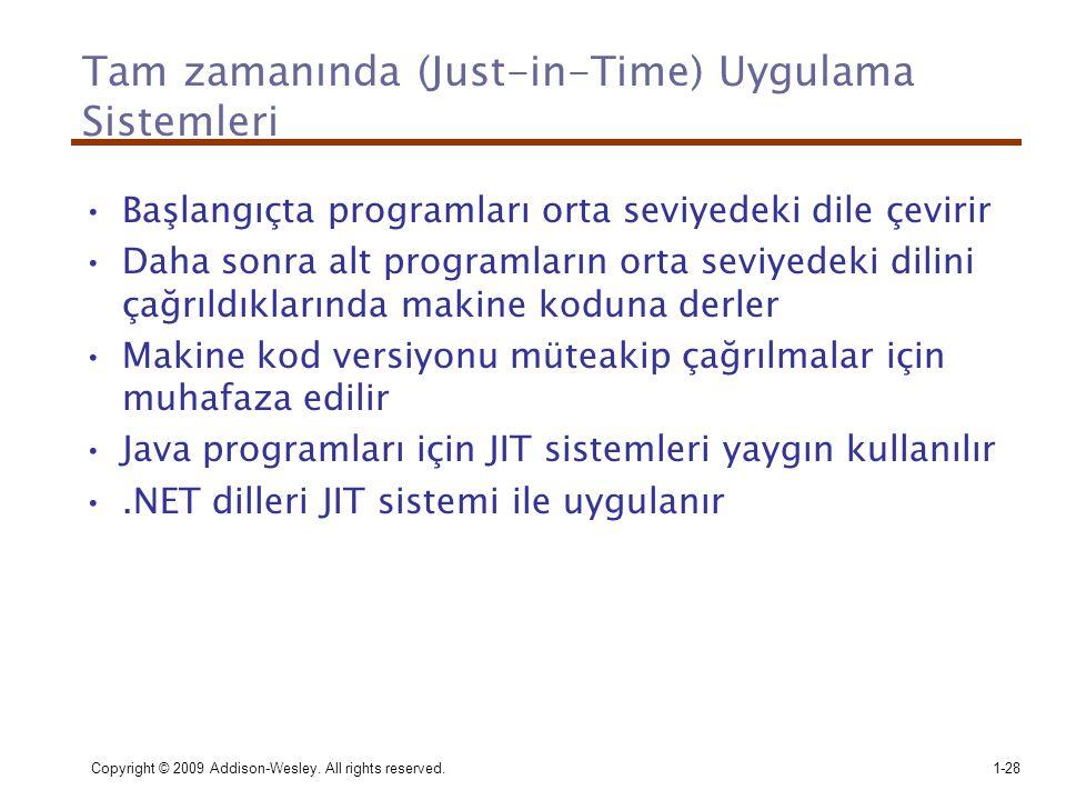 Tam zamanında (Just-in-Time) Uygulama Sistemleri