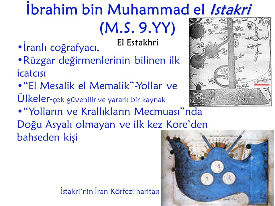 İbrahim bin Muhammad el Istakri