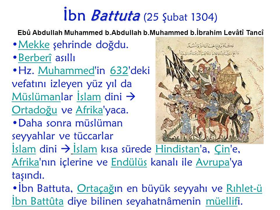 Ebû Abdullah Muhammed b.Abdullah b.Muhammed b.İbrahim Levâtî Tancî