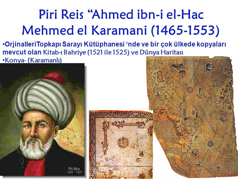 Piri Reis Ahmed ibn-i el-Hac