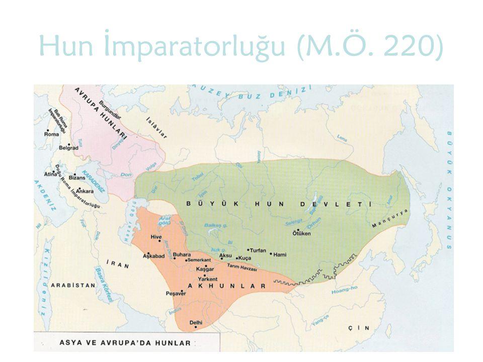 Hun İmparatorluğu (M.Ö. 220)