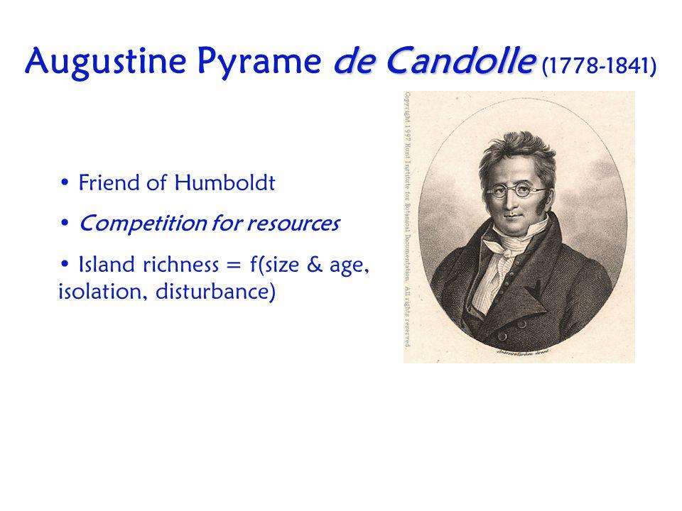Augustine Pyrame de Candolle (1778-1841)