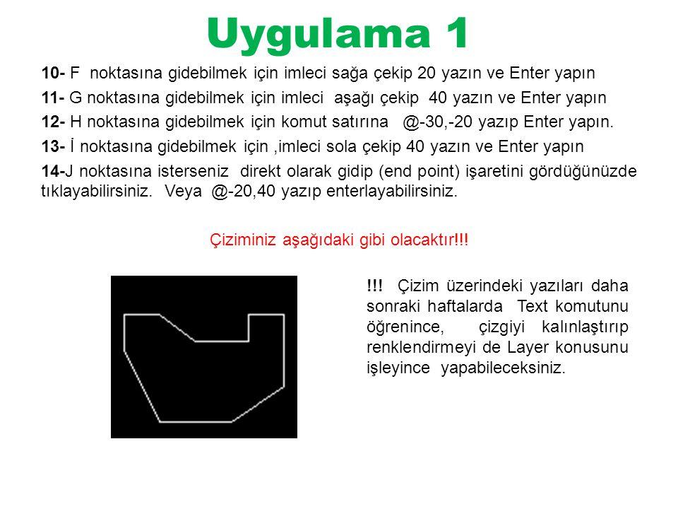 Uygulama 1