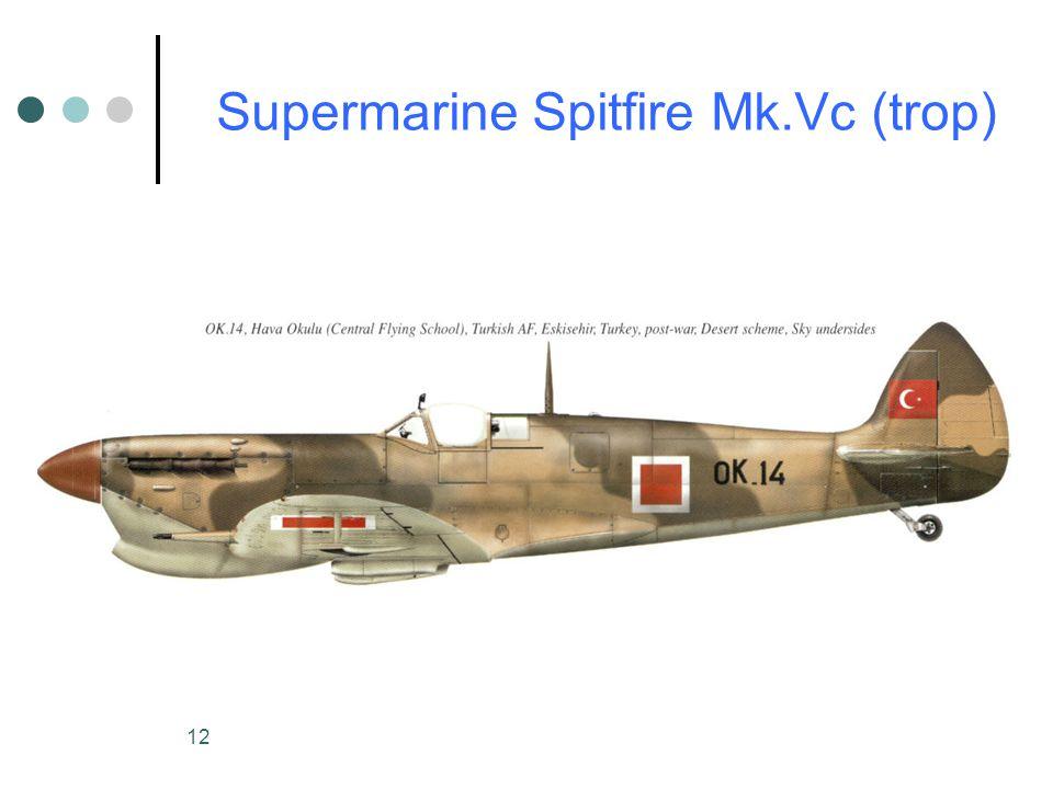 Supermarine Spitfire Mk.Vc (trop)