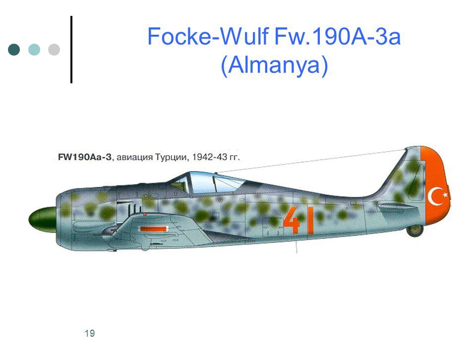 Focke-Wulf Fw.190A-3a (Almanya)