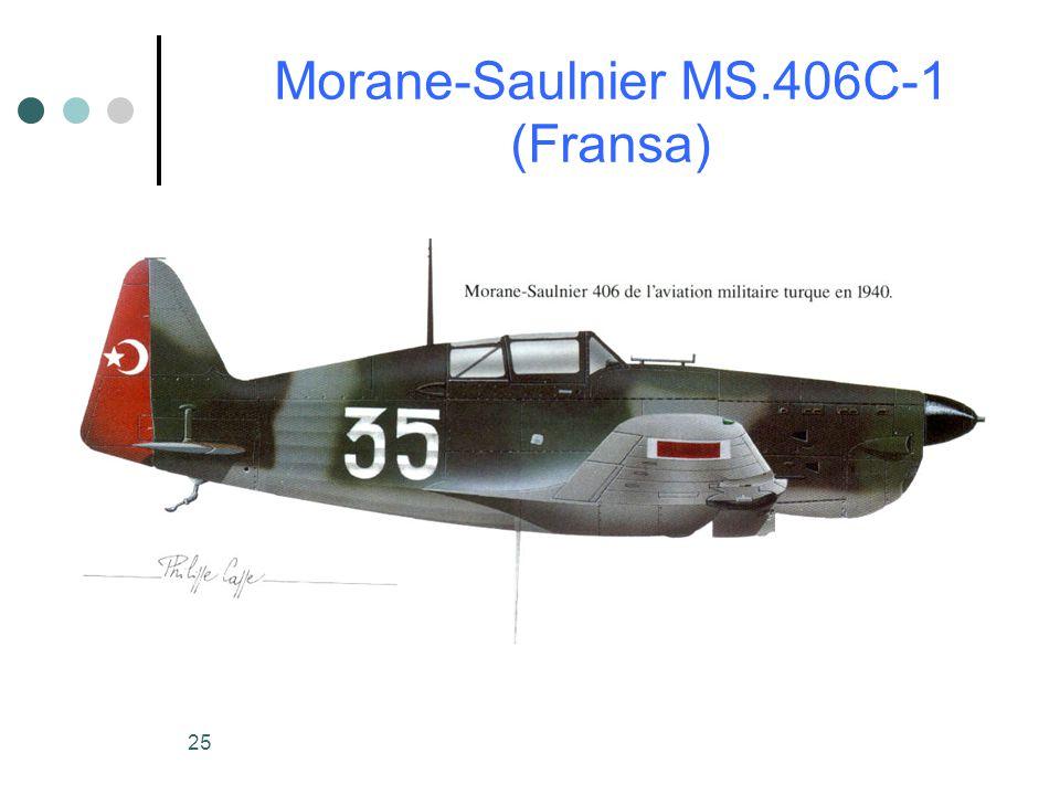 Morane-Saulnier MS.406C-1 (Fransa)