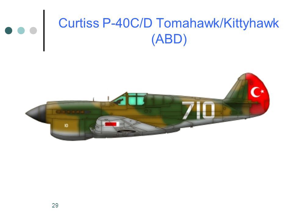 Curtiss P-40C/D Tomahawk/Kittyhawk (ABD)