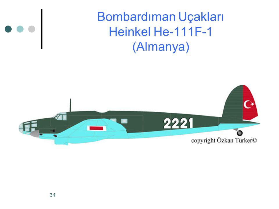 Bombardıman Uçakları Heinkel He-111F-1 (Almanya)