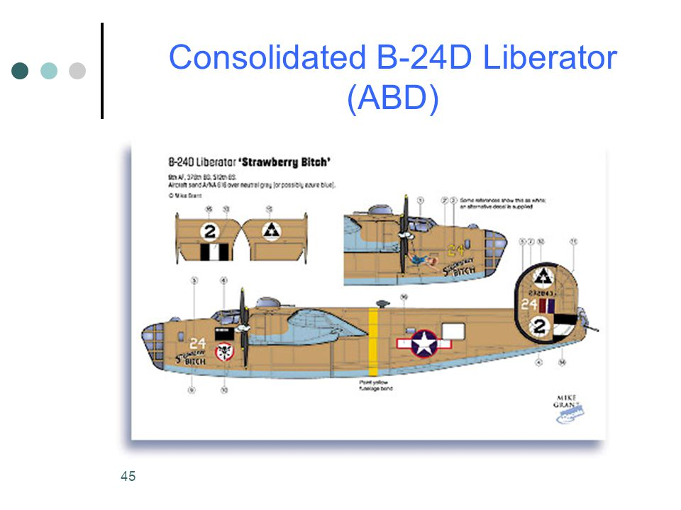 Consolidated B-24D Liberator (ABD)