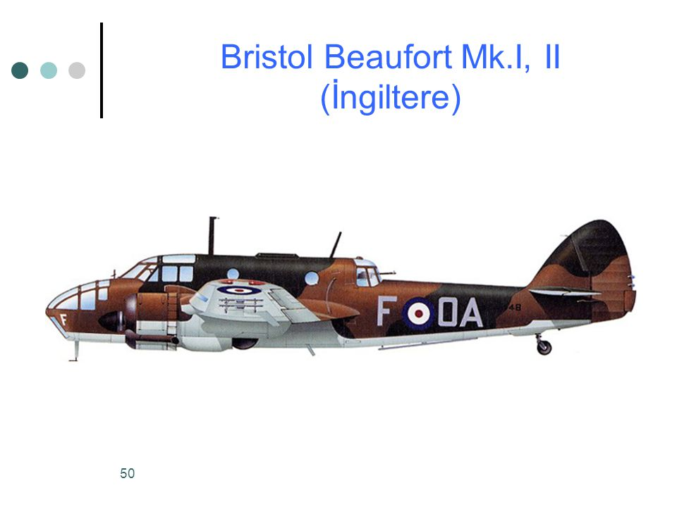 Bristol Beaufort Mk.I, II (İngiltere)