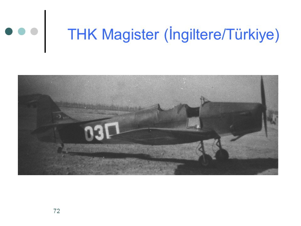 THK Magister (İngiltere/Türkiye)