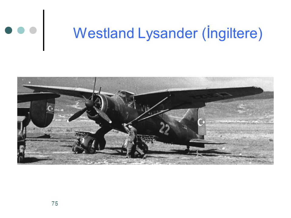 Westland Lysander (İngiltere)