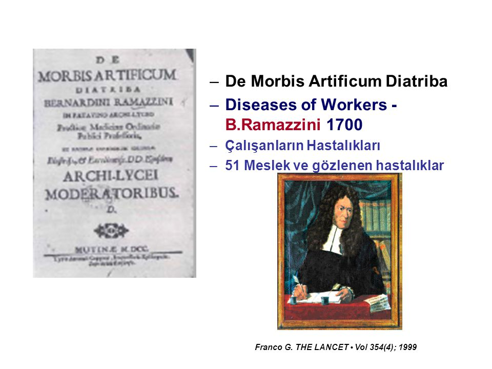 De Morbis Artificum Diatriba Diseases of Workers - B.Ramazzini 1700
