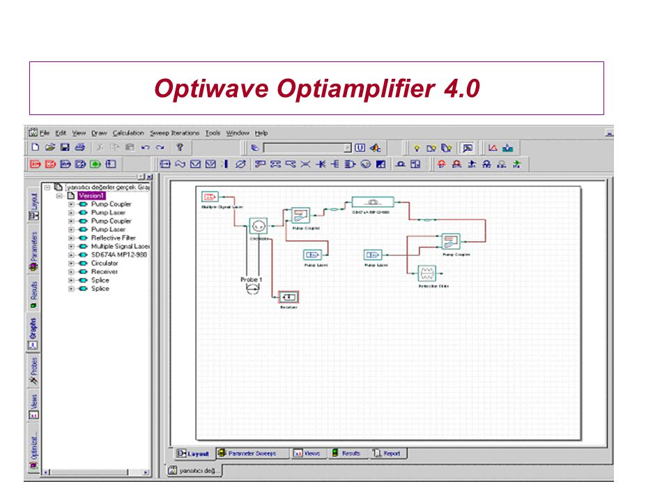 Optiwave Optiamplifier 4.0
