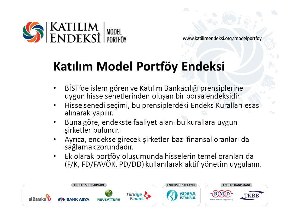 Katılım Model Portföy Endeksi