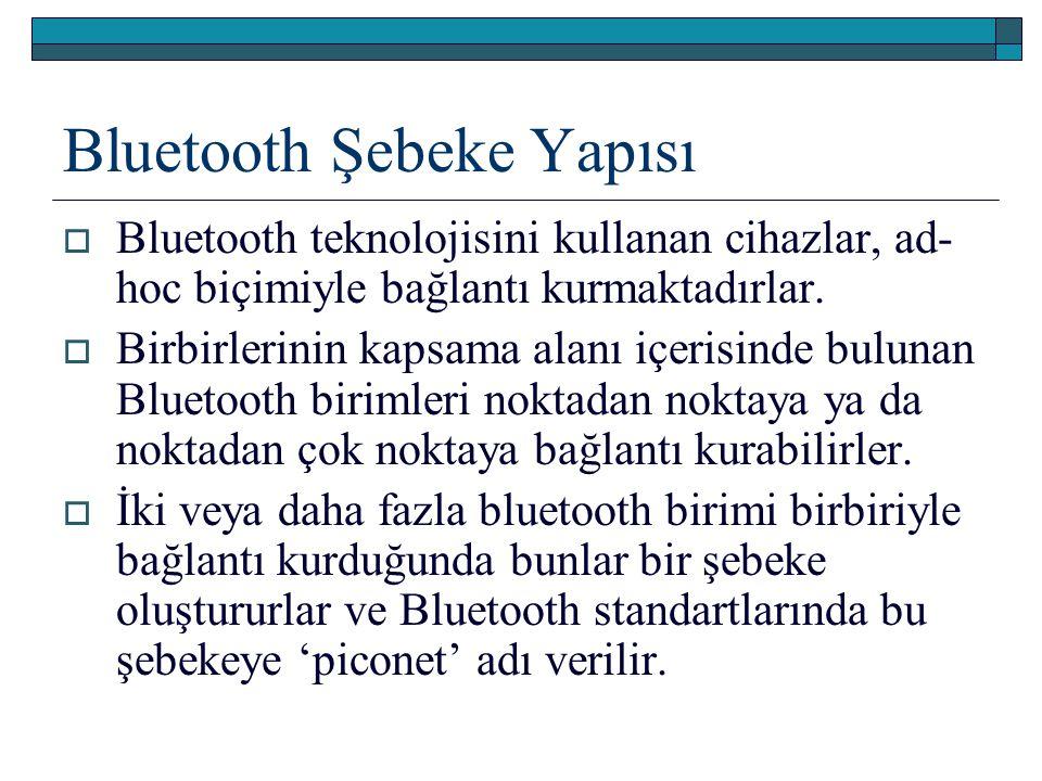 Bluetooth Şebeke Yapısı