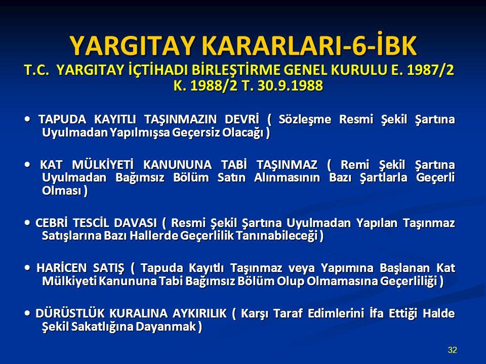 YARGITAY KARARLARI-6-İBK