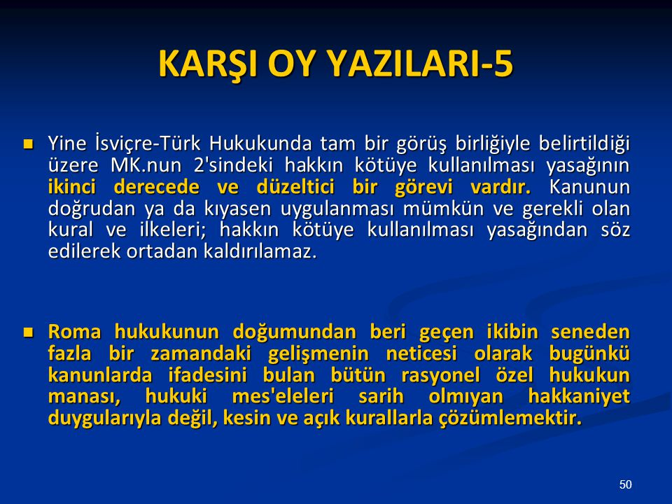 KARŞI OY YAZILARI-5