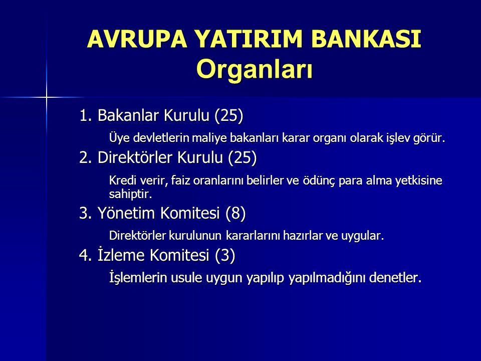 AVRUPA YATIRIM BANKASI Organları