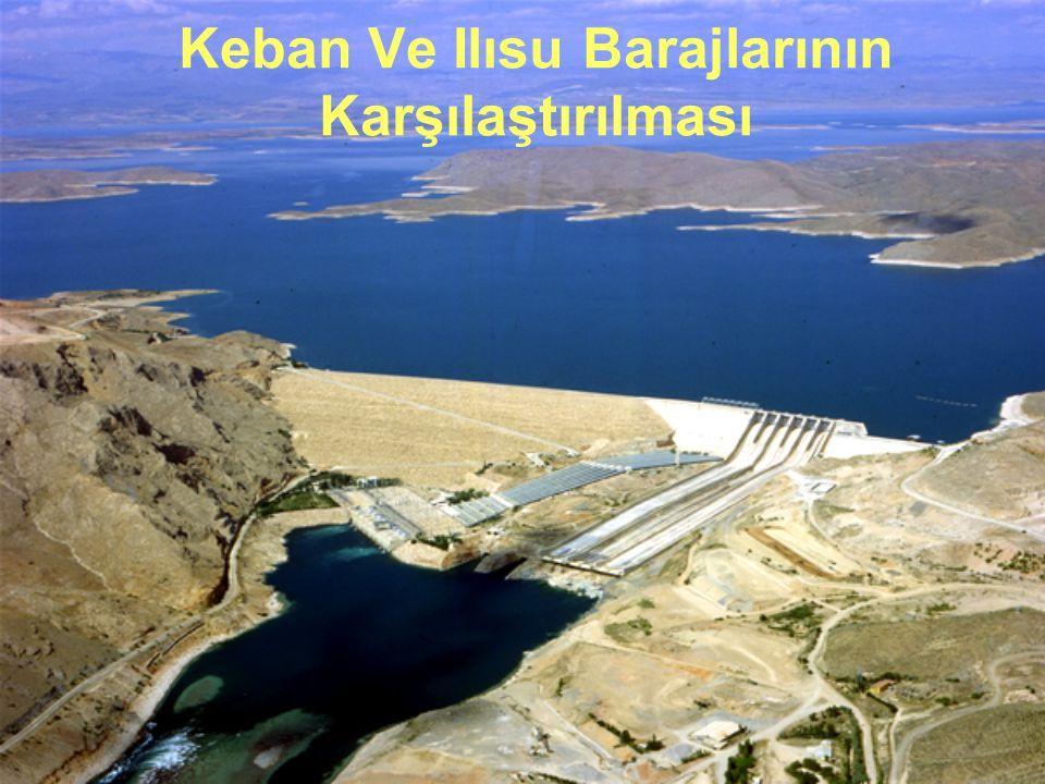Keban Ve Ilısu Barajlarının Karşılaştırılması