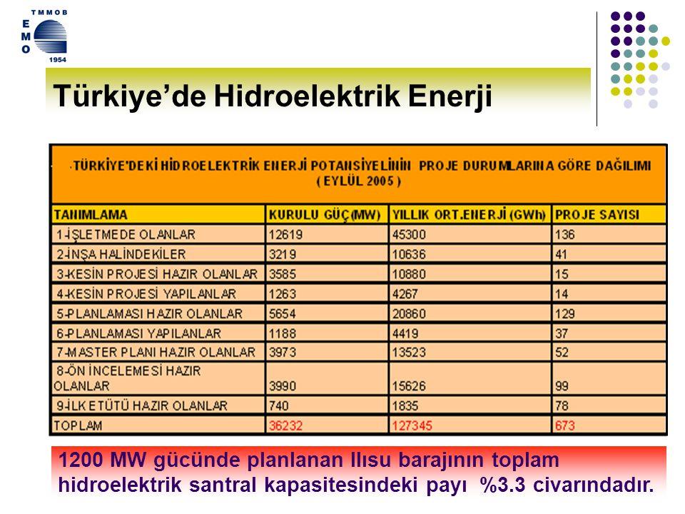 Türkiye'de Hidroelektrik Enerji