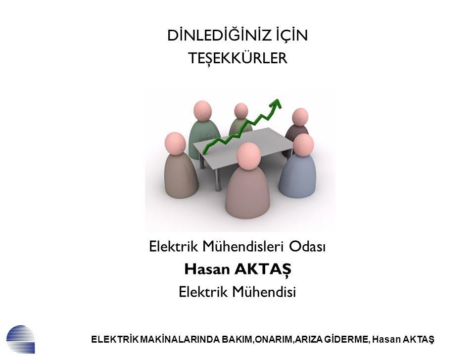 Elektrik Mühendisleri Odası Hasan AKTAŞ Elektrik Mühendisi