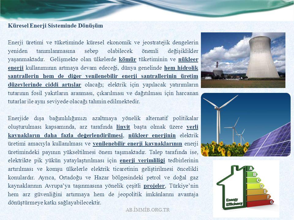 Küresel Enerji Sisteminde Dönüşüm