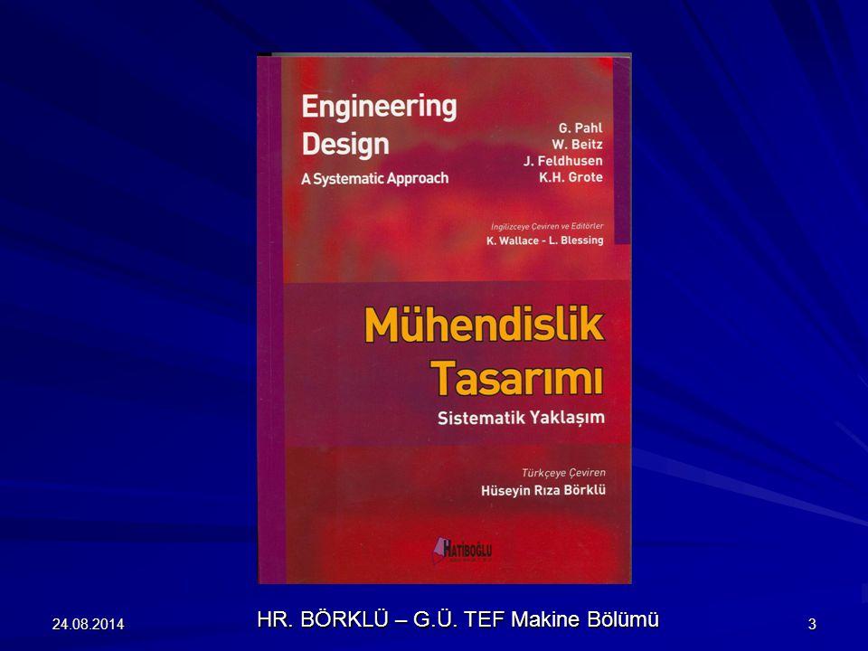 HR. BÖRKLÜ – G.Ü. TEF Makine Bölümü