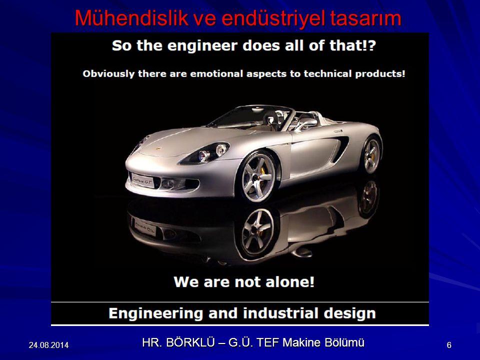 Mühendislik ve endüstriyel tasarım