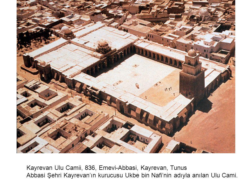 Kayrevan Ulu Camii, 836, Emevi-Abbasi, Kayrevan, Tunus