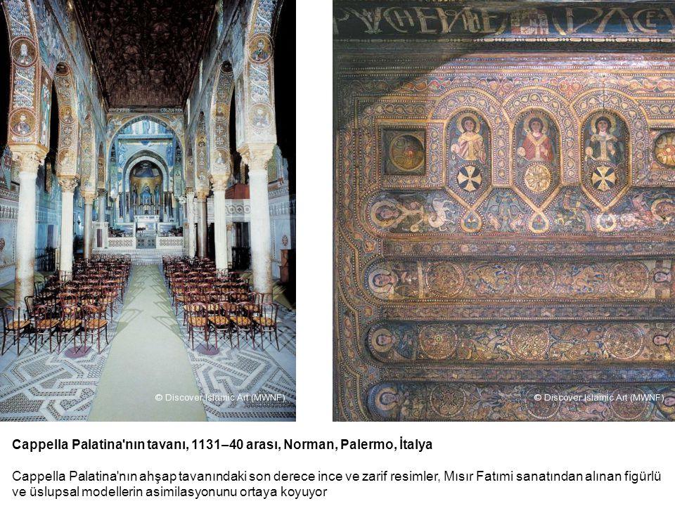 Cappella Palatina nın tavanı, 1131–40 arası, Norman, Palermo, İtalya