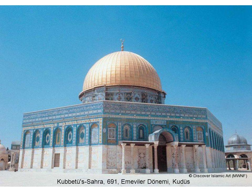 Kubbetü s-Sahra, 691, Emeviler Dönemi, Kudüs