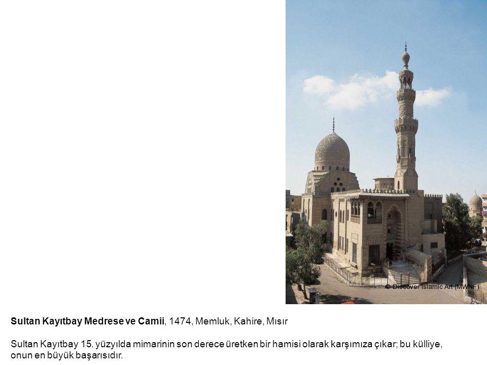 Sultan Kayıtbay Medrese ve Camii, 1474, Memluk, Kahire, Mısır