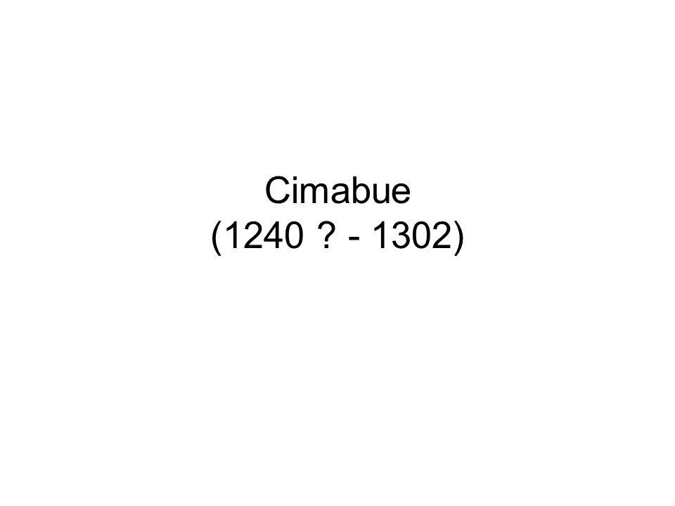Cimabue (1240 - 1302)